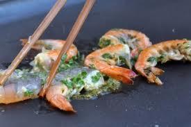 Crevettes citronnées à la plancha